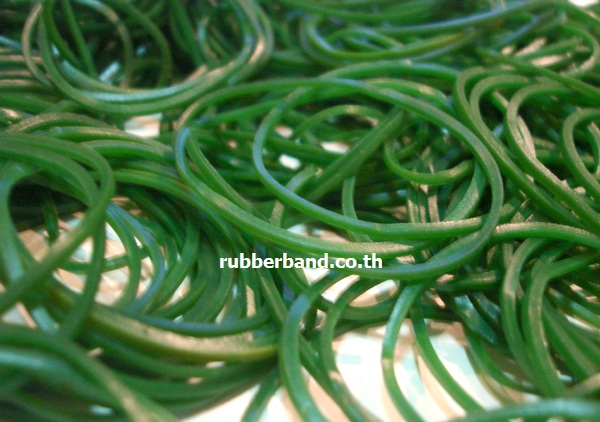 Rubber Band Green